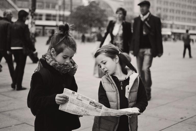 Берлин с деца