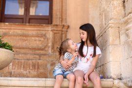 Сицилия с деца